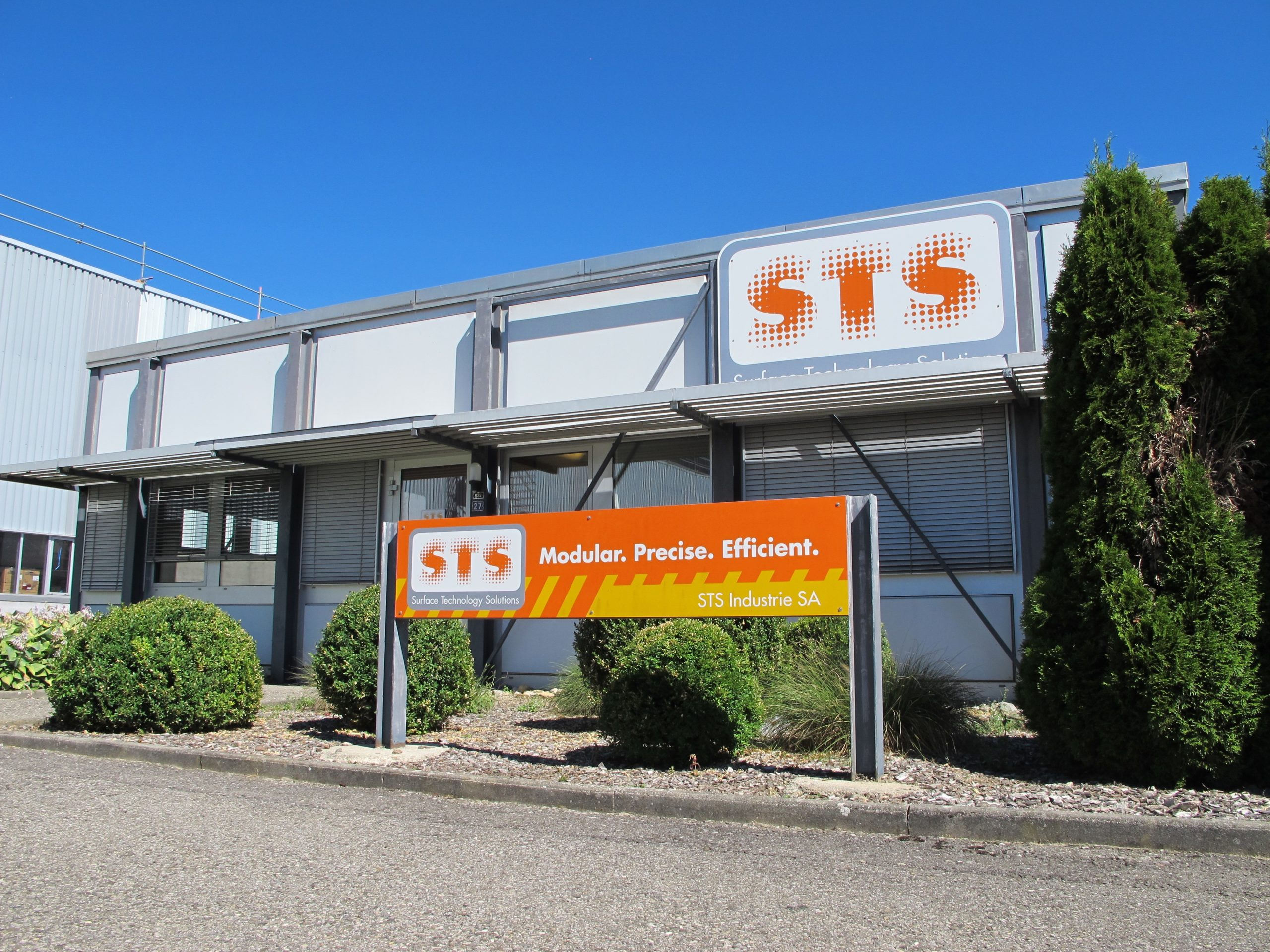 STS Industrie - Surface Technology Solutions - STS EN